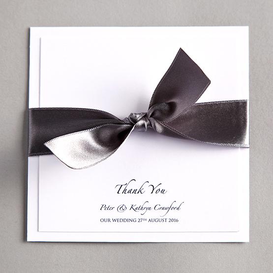 TwentySevenCoUk The Online Wedding Stationery Company Thank – Wedding Thank You Cards Uk
