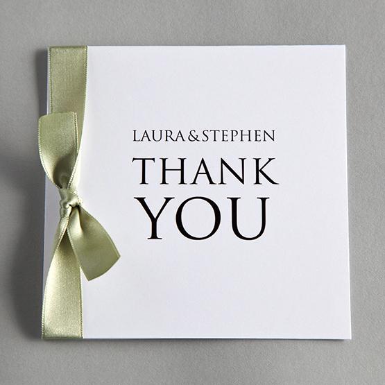 TwentySevenCoUk The Online Wedding Stationery Company – Wedding Thank You Cards Uk